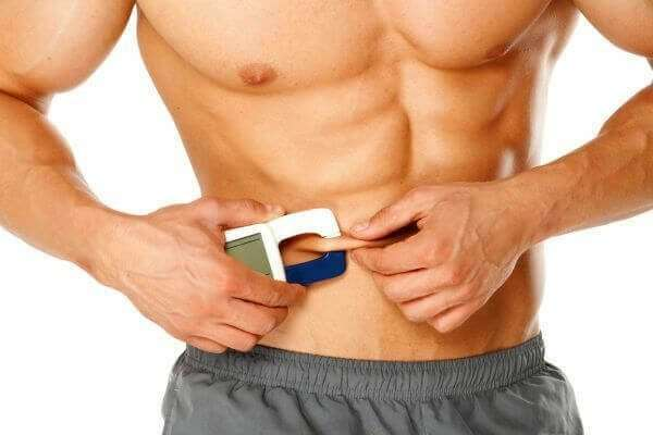 work out body fat percentage